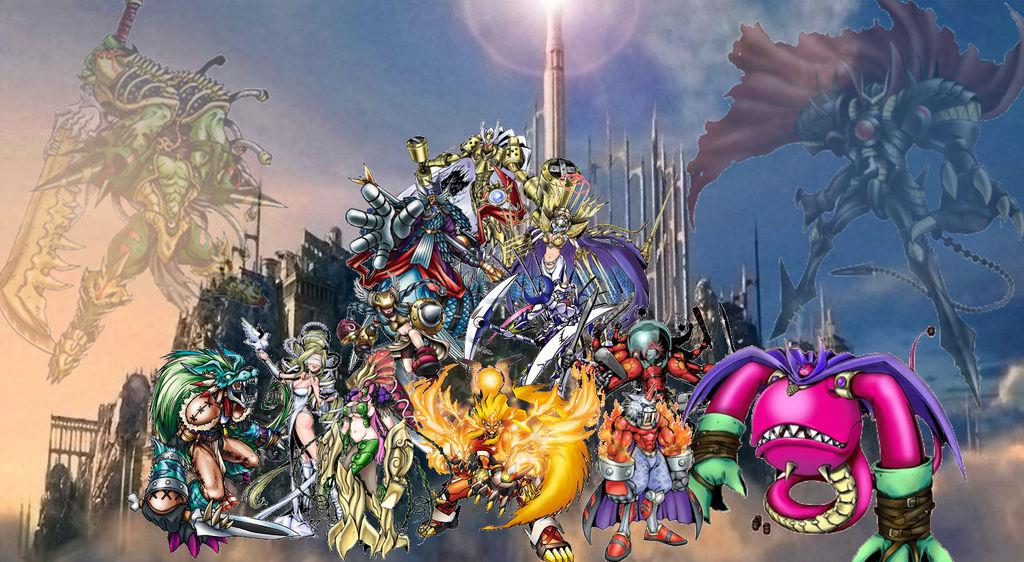 Digimon Wallpaper: Olympus Xll by