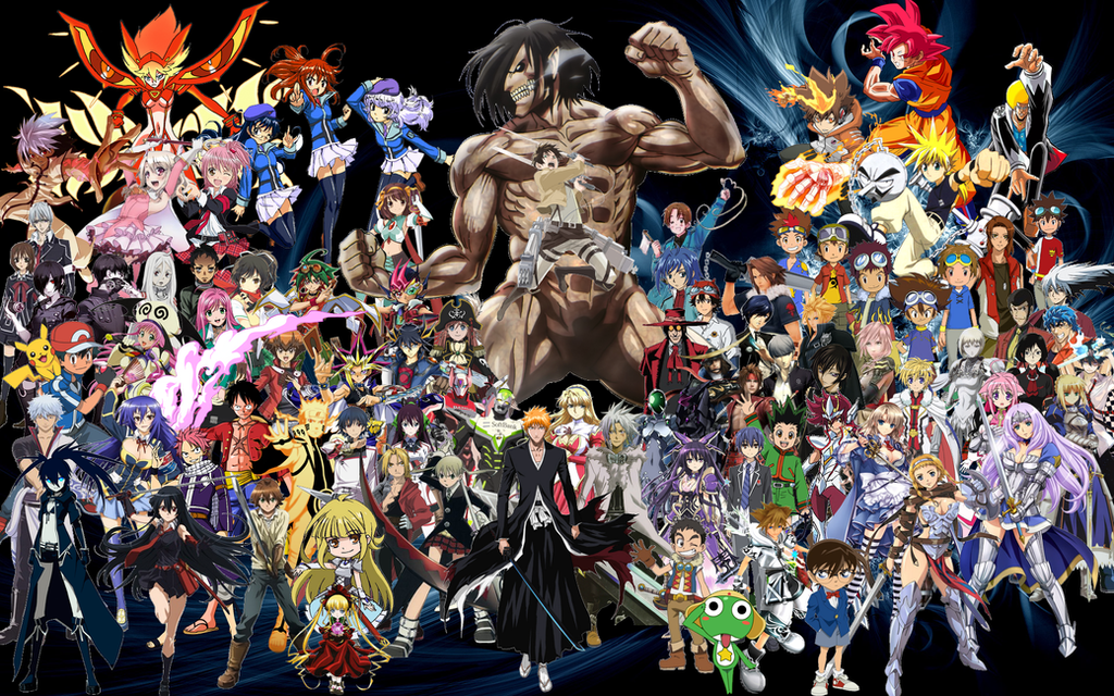 Anime All Stars Generation Wallpaper By Ryokia96