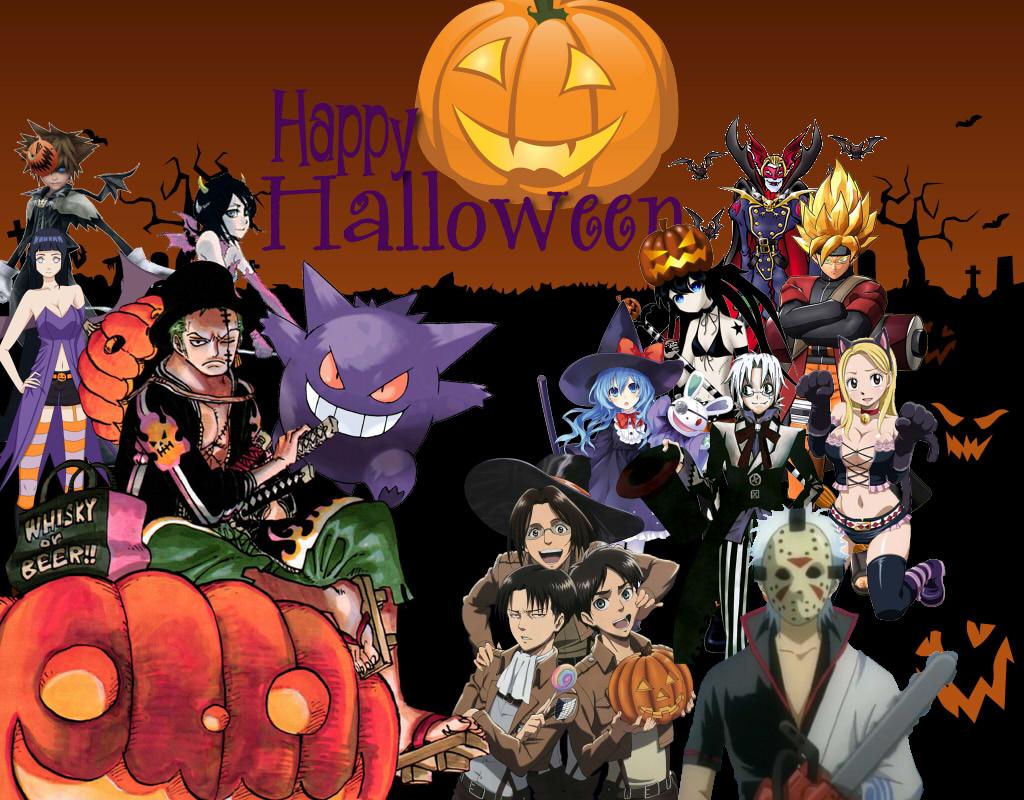 Anime Happy Halloween! by ryokia96 on DeviantArt