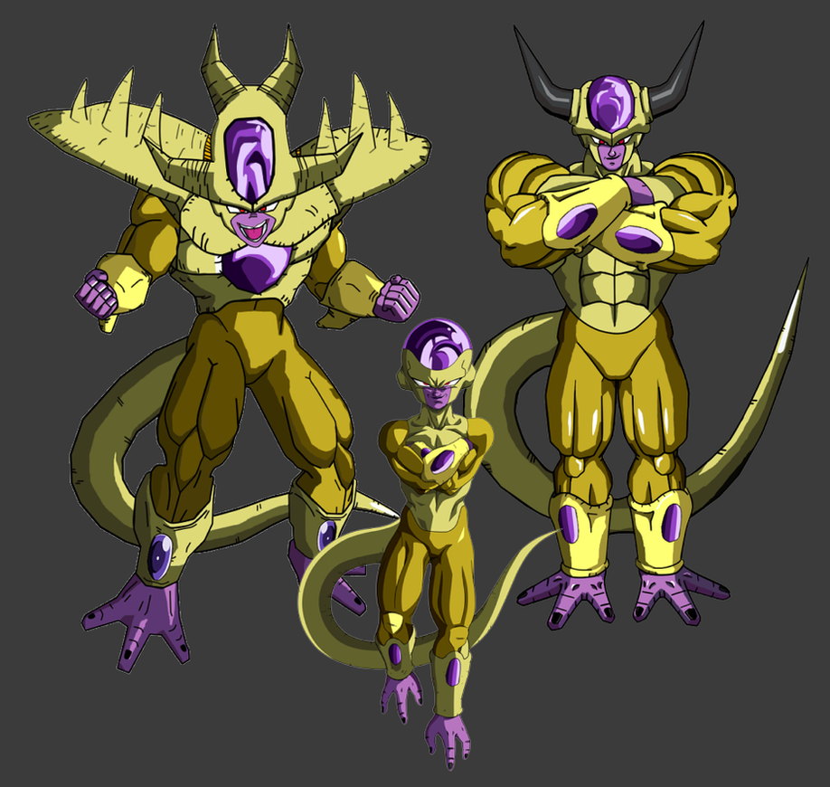 Golden Frieza New transformation by ryokia96 on DeviantArt