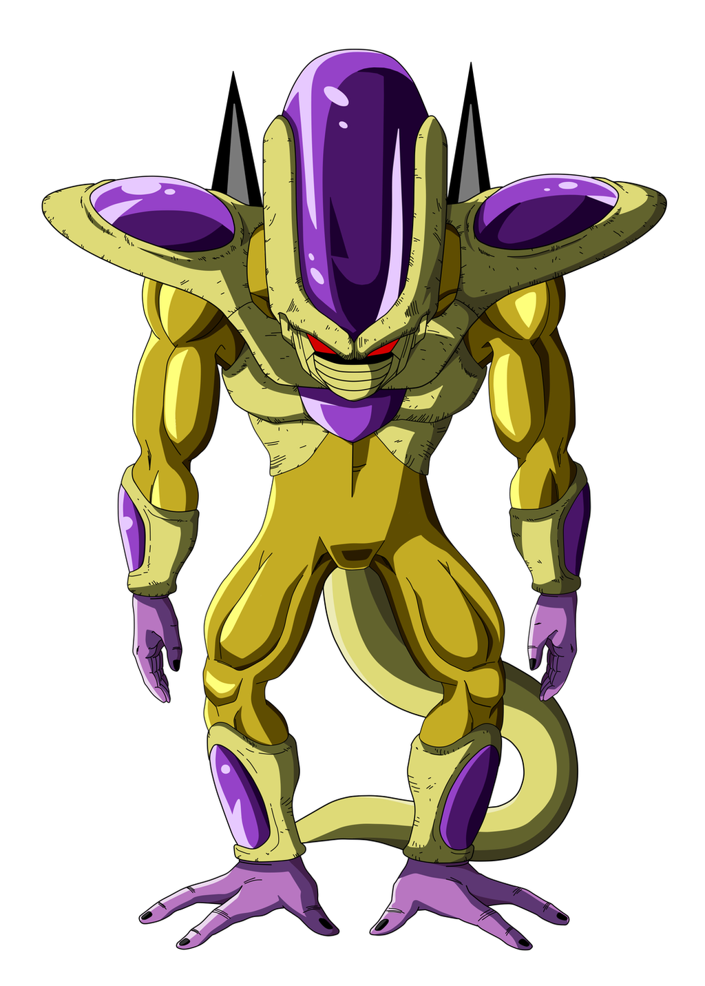 Golden Frieza 6th Form by ryokia96 on DeviantArt