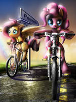 The Ride To Conquer Cancer by Wylfden