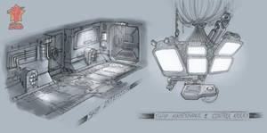 Ship Interior Concept 1 by PeNcIl-ReBeLlIoN
