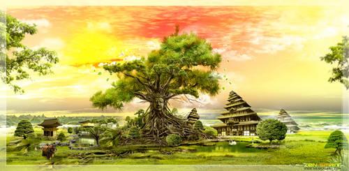 Zen Spirit by meskalGraphics