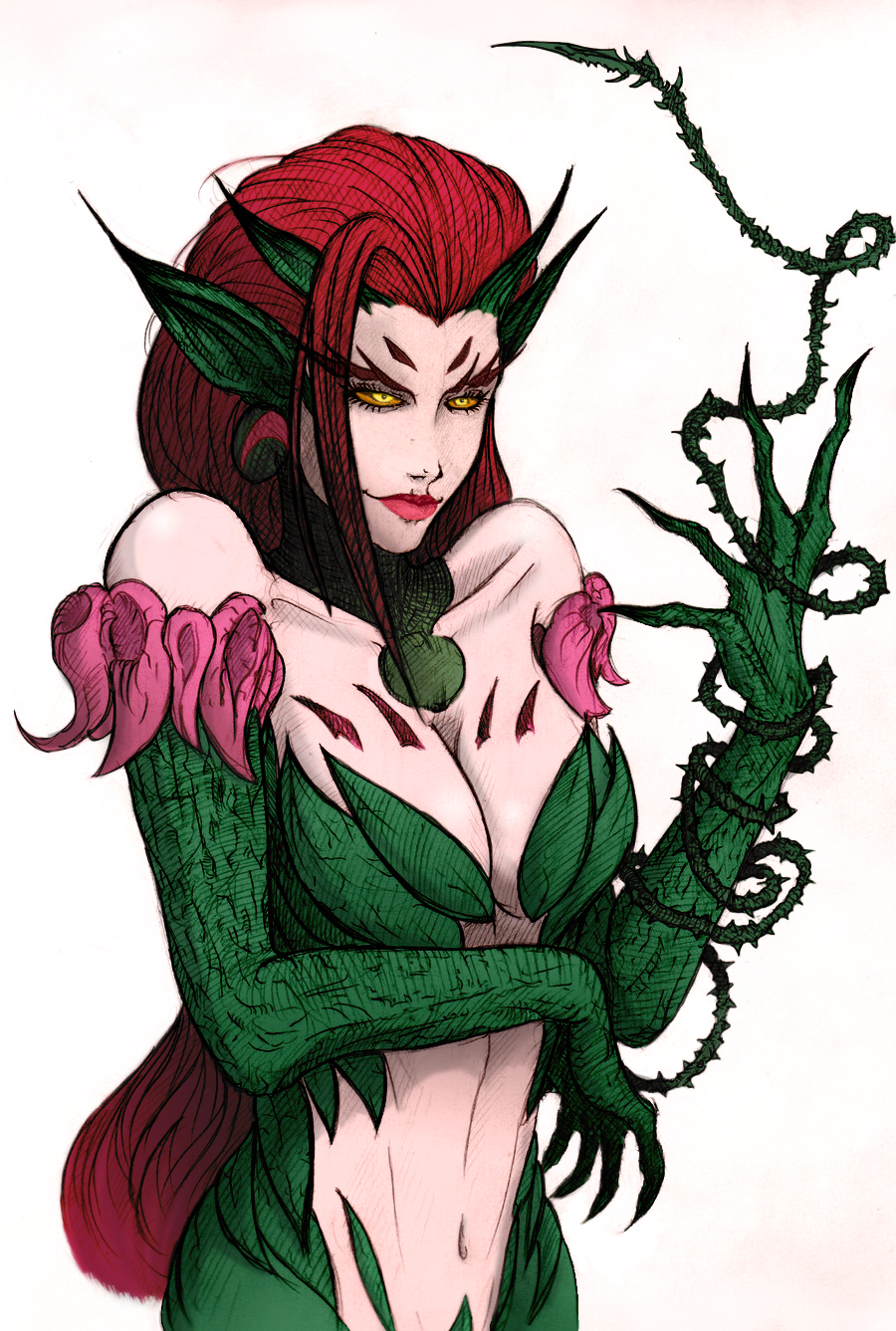 Zyra (colored version) by Kilgard-blademaster