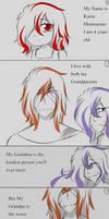 {AU Comic pg 1 n 2} by NightmareQueenKasei