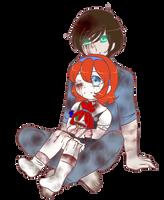 {CreepyPasta} Sam and Lily by NightmareQueenKasei