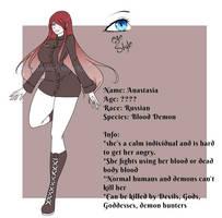 {Small Ref/ Info} Anastasia