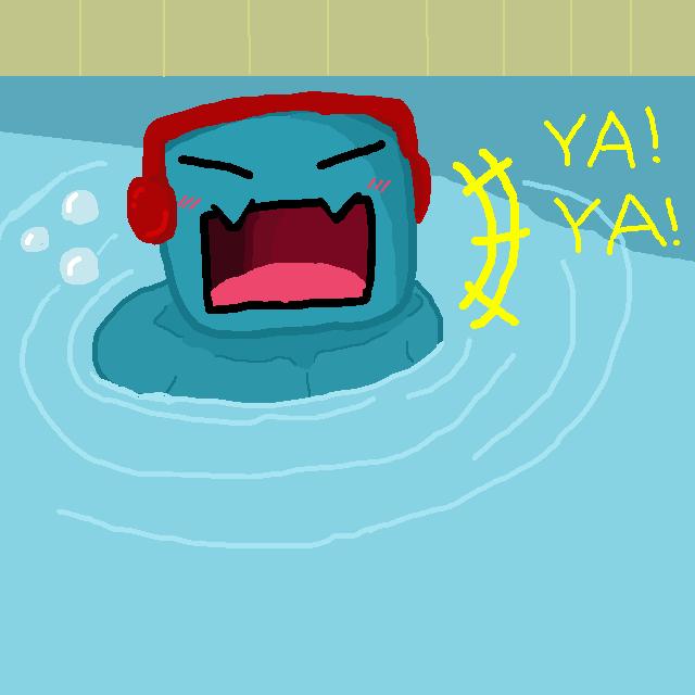 Swimmin' by HikaruTheTaru