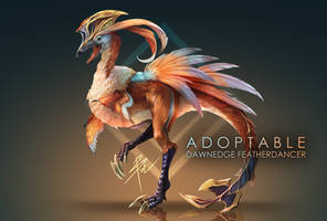 [OPEN] Adoptable | Dawnedge Featherdancer by lBlacKiE-MaiDeNl