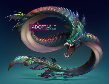 [CLOSED] Adoptable Auction   Prisma of the Depth