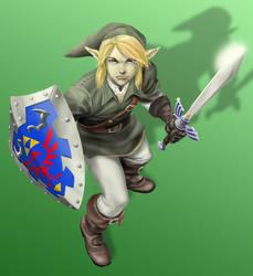 Link fan art by MichaelChoiArt