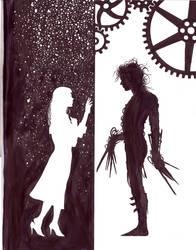 Edward Scissorhands fan art by MichaelChoiArt
