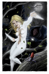 S-I: Cloak and Dagger 1 cover by MichaelChoiArt