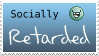 Social Retard Stamp by Larimar