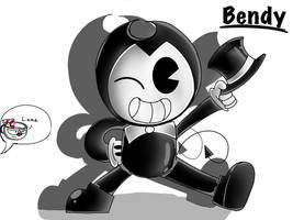 Bendy! by BendyTheCartoonyGuy