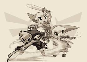 Legend of Zelda - Collage by PiinkKittyy