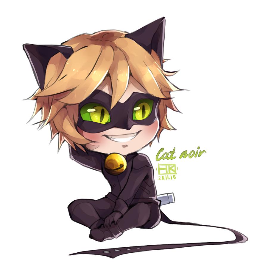 Cat chibi drawing
