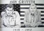 Andy Griffith Dedication Portrait