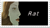 Orphan Black Stamp - Rat (The Abandoned) by OBTheAbandoned