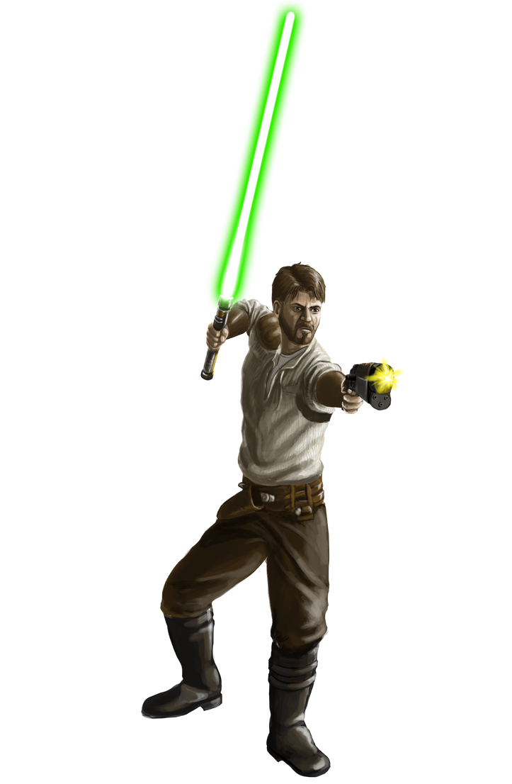 Kyle Katarn by LittleFoxStudio