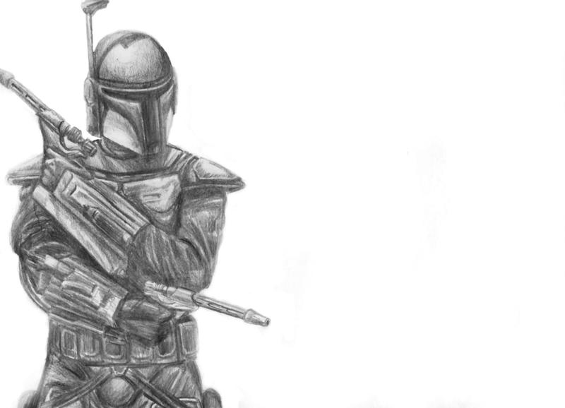 Jango Fett by LittleFoxStudio
