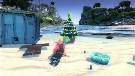 Engie finds a Christmas Tree by heremrbomb
