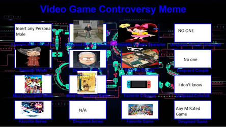My Video game Controversy Meme