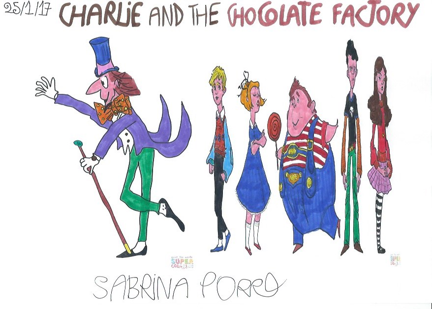 Charlie And The Chocolate Factory Book List Of Characters