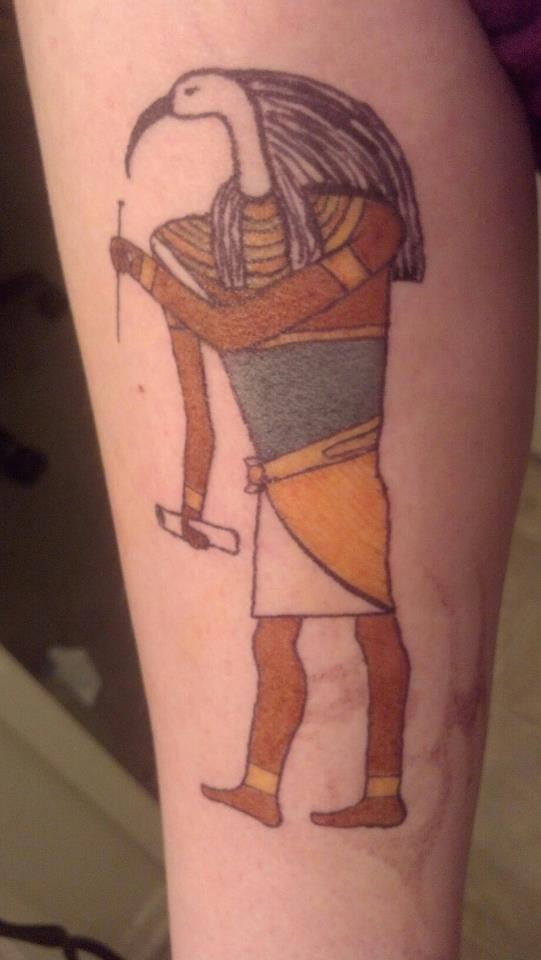 the gallery for egyptian god thoth tattoos. Black Bedroom Furniture Sets. Home Design Ideas