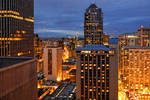 Seattle during the blue hour