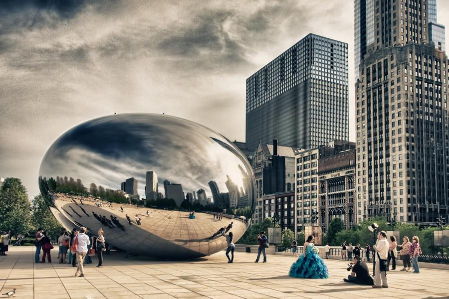Chicago Bean 2 by arnaudperret