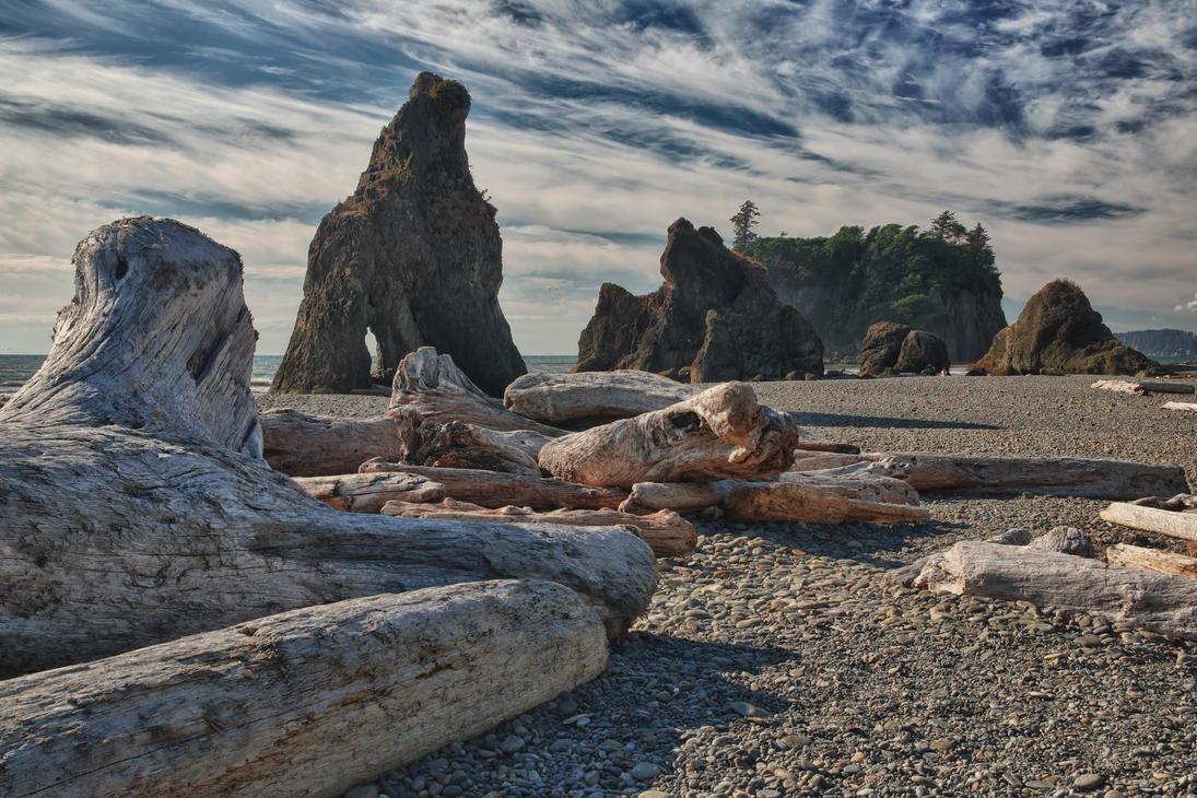 Ruby Beach 1 by arnaudperret