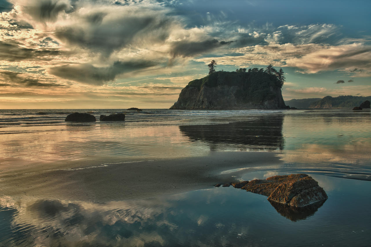 Ruby Beach 16 by arnaudperret