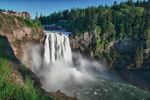 Snoqualmie Falls by arnaudperret