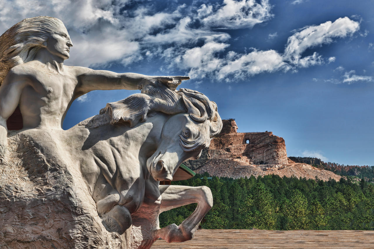 crazy horse memorial 1arnaudperret on deviantart