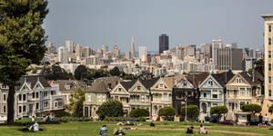 San Francisco from Alamo Square