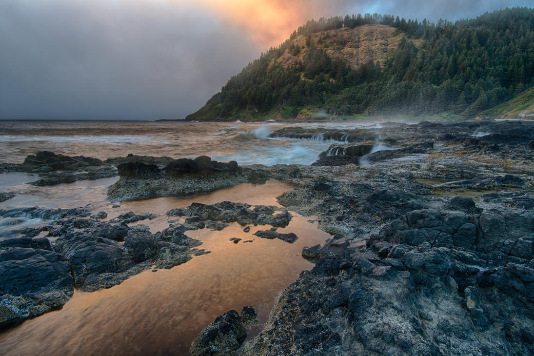 Cape Perpetua by arnaudperret