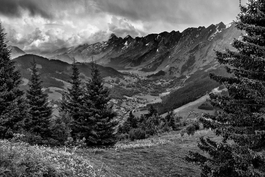 Valley of la Clusaz 11 by arnaudperret