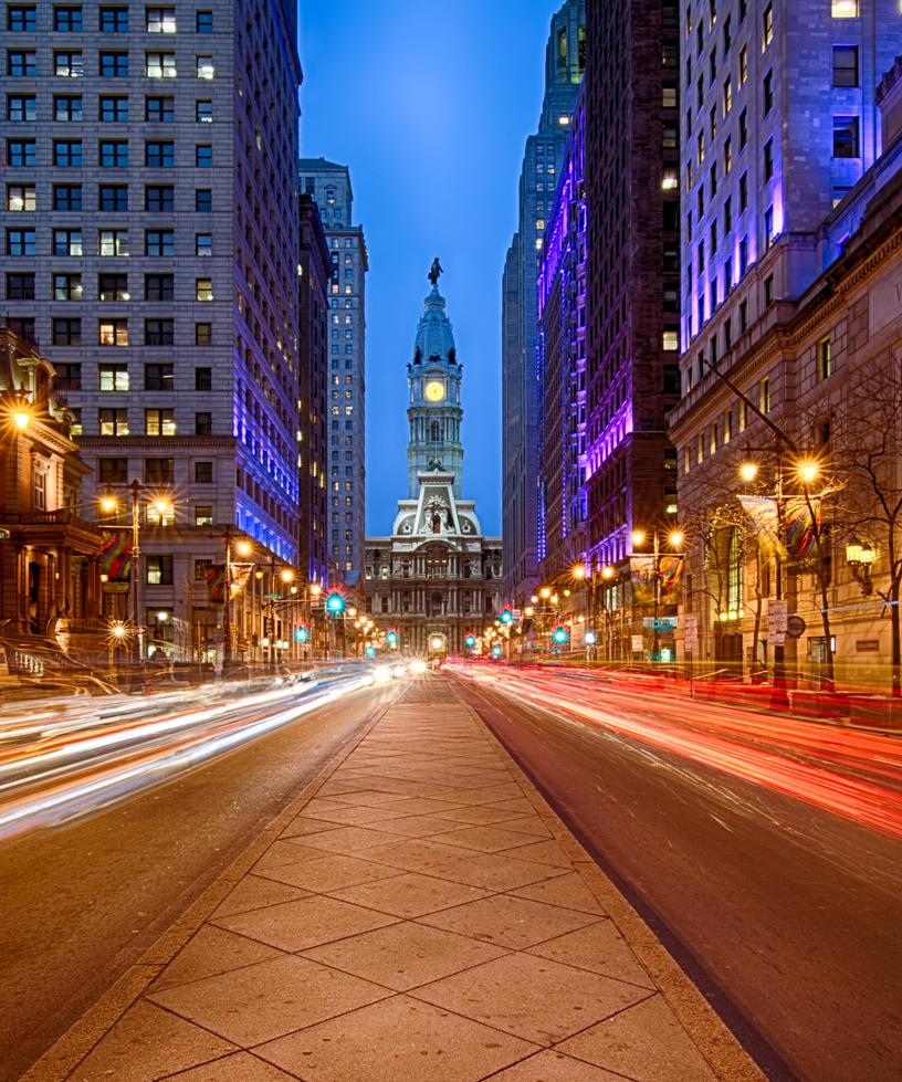 City Hall in Philadelphia by arnaudperret