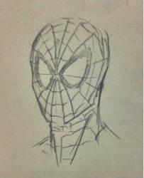 Spider Man sketch by wilsonjunior1994