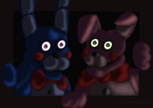 BonBon and Bonnet say Hi!