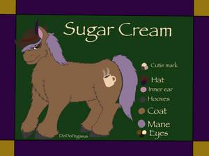 SugarCream character Ref