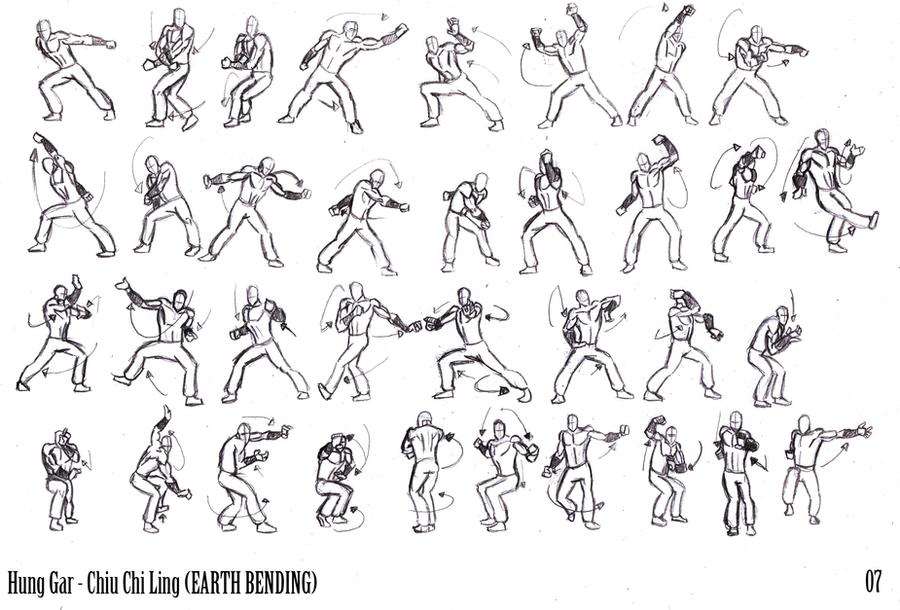 HungGar EARTHBENDING Thumbs 07 by kaioutei