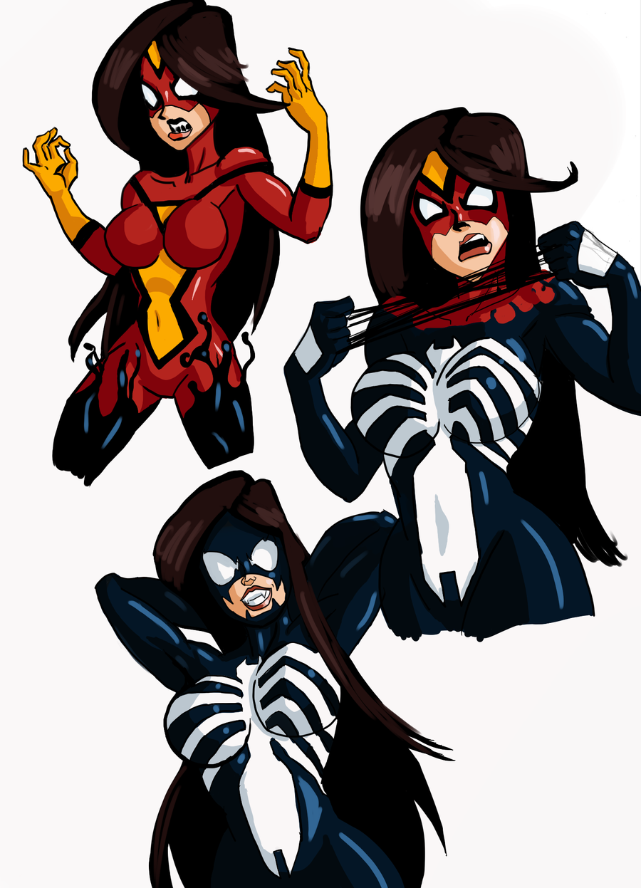 Spider-woman commission by kaioutei on DeviantArt | 900 x 1247 png 514kB