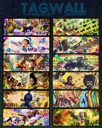 Tagwall 2 by SnoopFroggyFrog