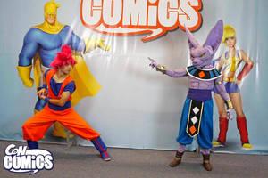 Goku God vs Beerus