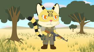 Cattleya The Serval Cat