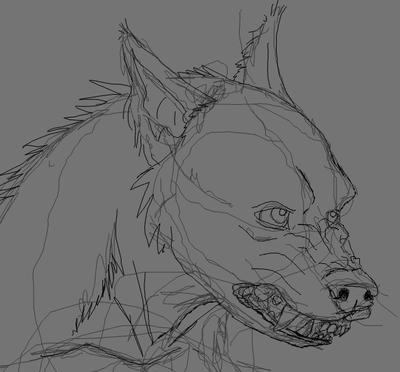 Werewolf WIP 1 by nagowteena101