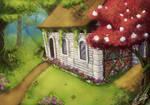 Fantasy Forest Cottage